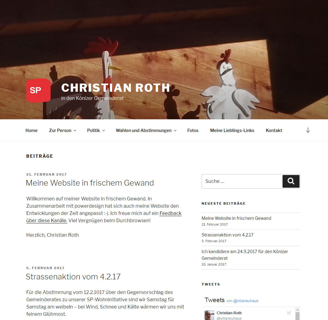 Christian Roth (Redesign)